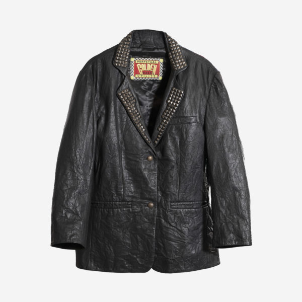 Ladies Jacket In Real Leather With Handpaint